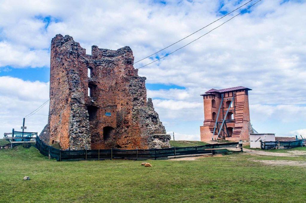 Всё, что осталось от Новогрудского замка