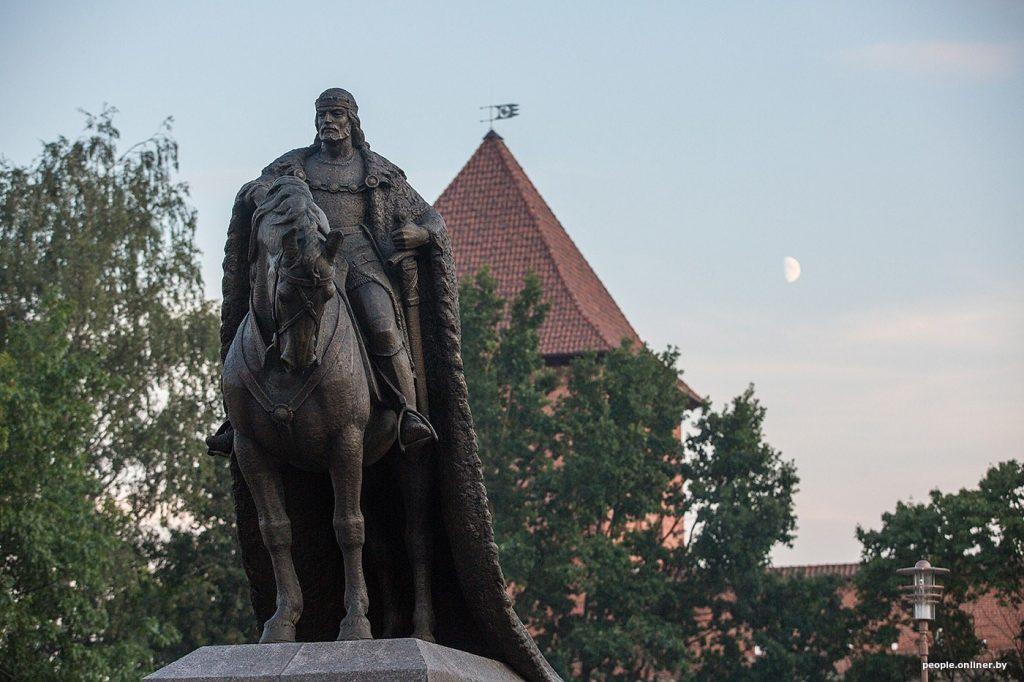 Памятник Князю Гедемину в Лиде
